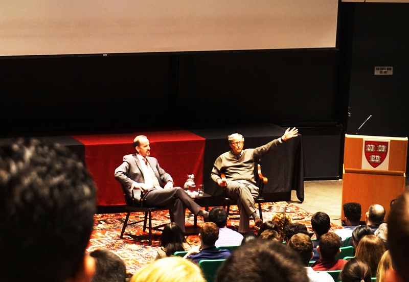 Bill Gates at Harvard