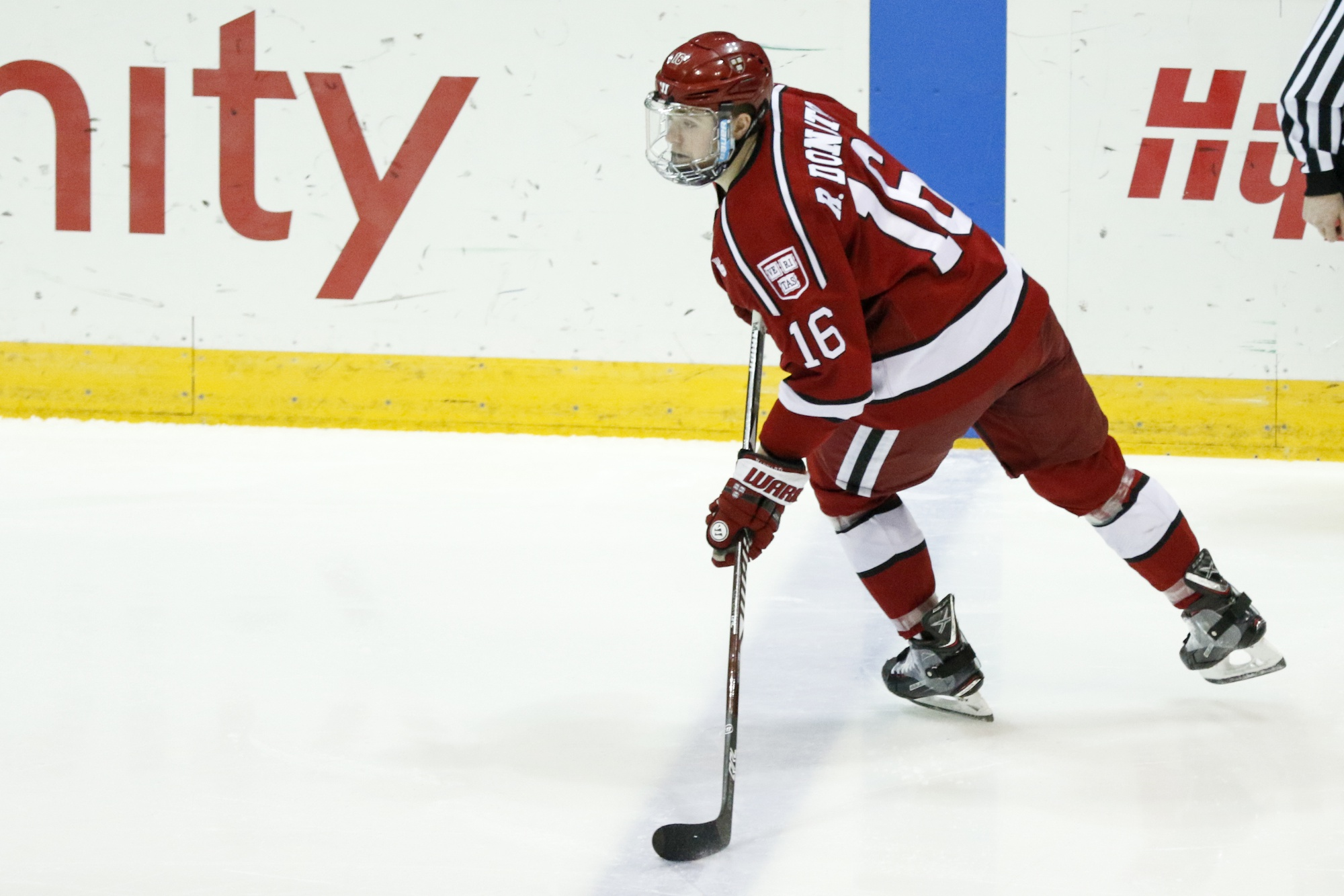 Donato's 14-game point streak to open the season, not to mention his NCAA-best 0.90 goals per game, were signs of his unique scoring ability.