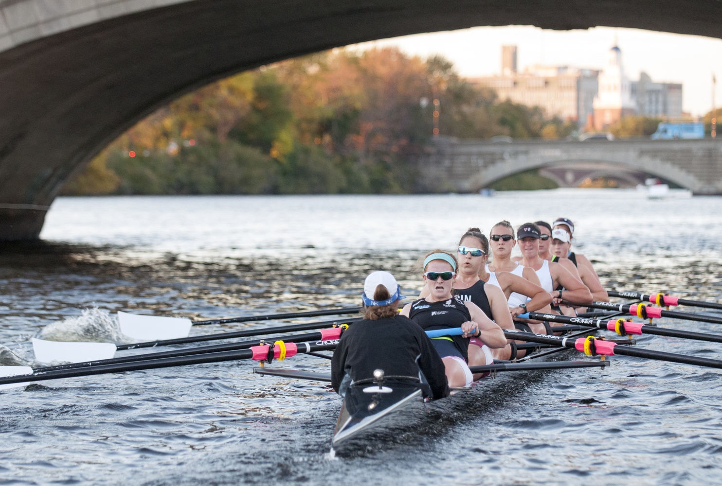 The women's heavyweight crew bested the field this weekend at Eastern Springs, rebounding from a loss to Yale last week.