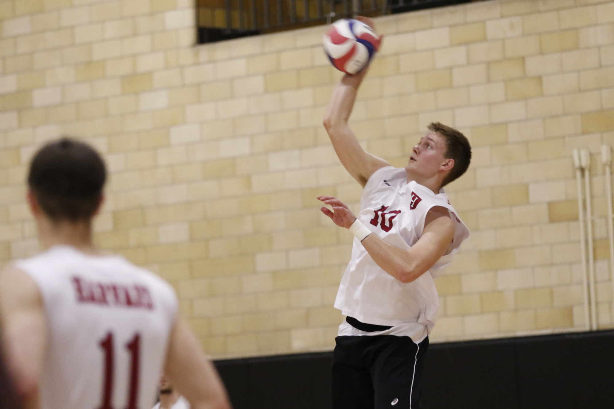 Sophomore setter Matthew Ctvrtlik led the team with eight out of its 35 total kills.