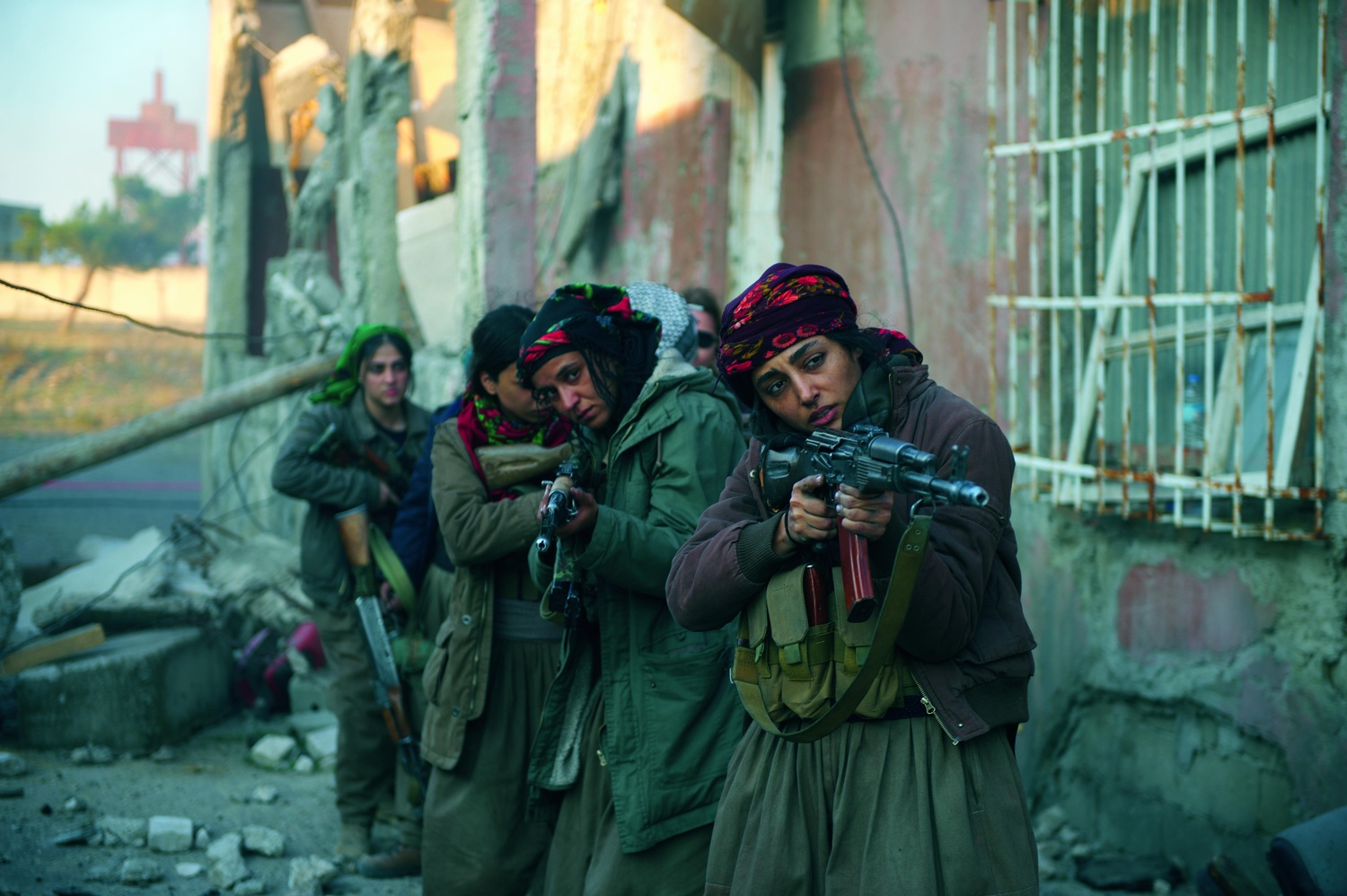 """Directed by Eva Husson, """"Filles de Soleil"""" (""""Girls of the Sun"""") premiered at the Cannes Film Festival, 2018."""