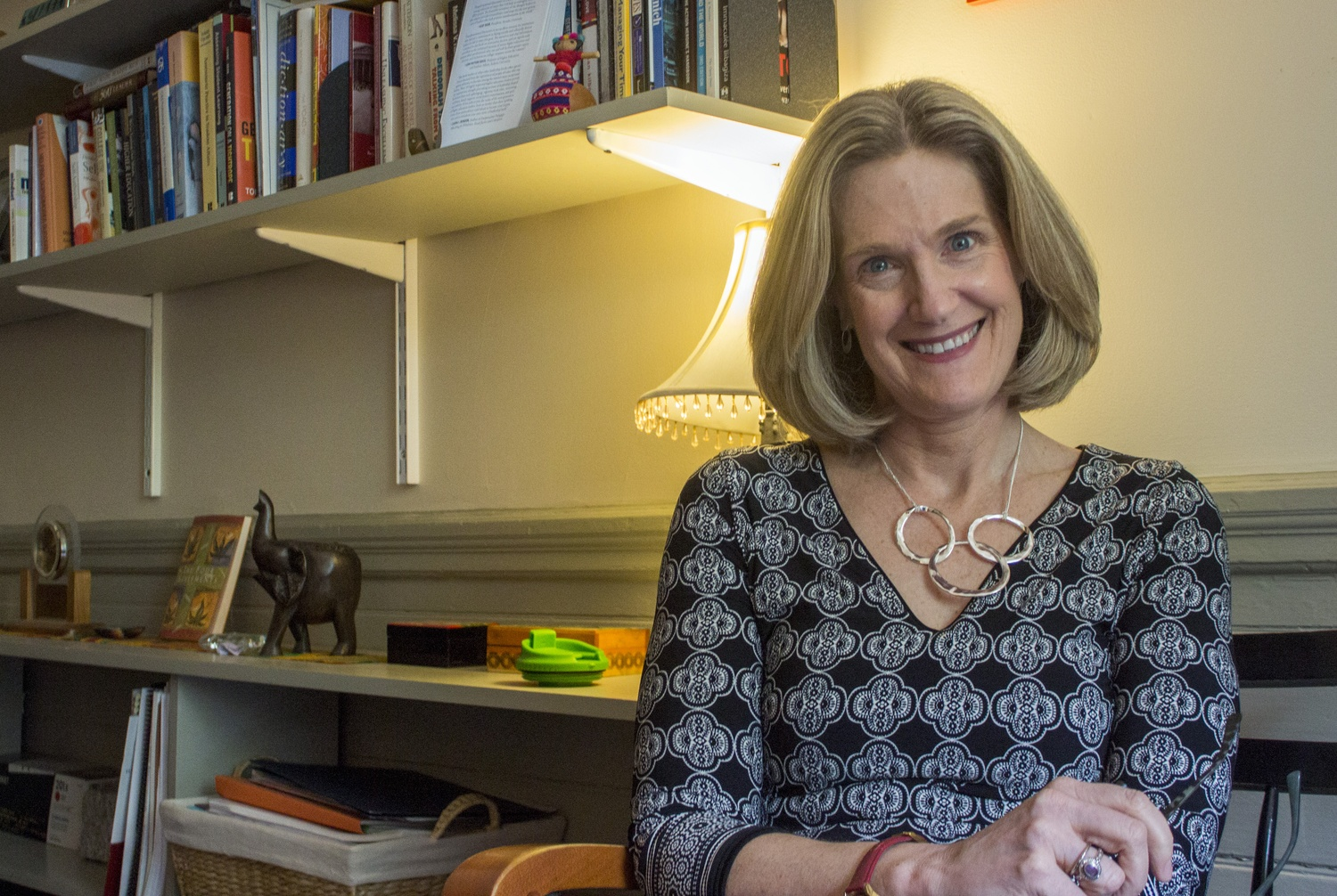 Katherine G. O'Dair, Dean of Students, heads the Office for Student Life.