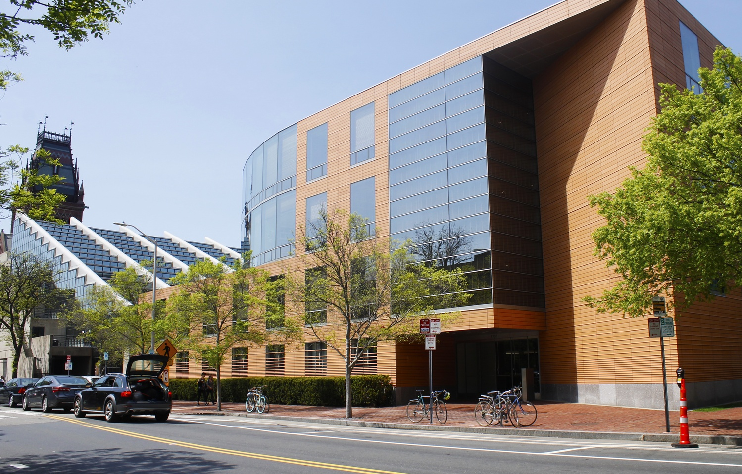The offices of Harvard's Government Department are housed in CGIS Knafel.
