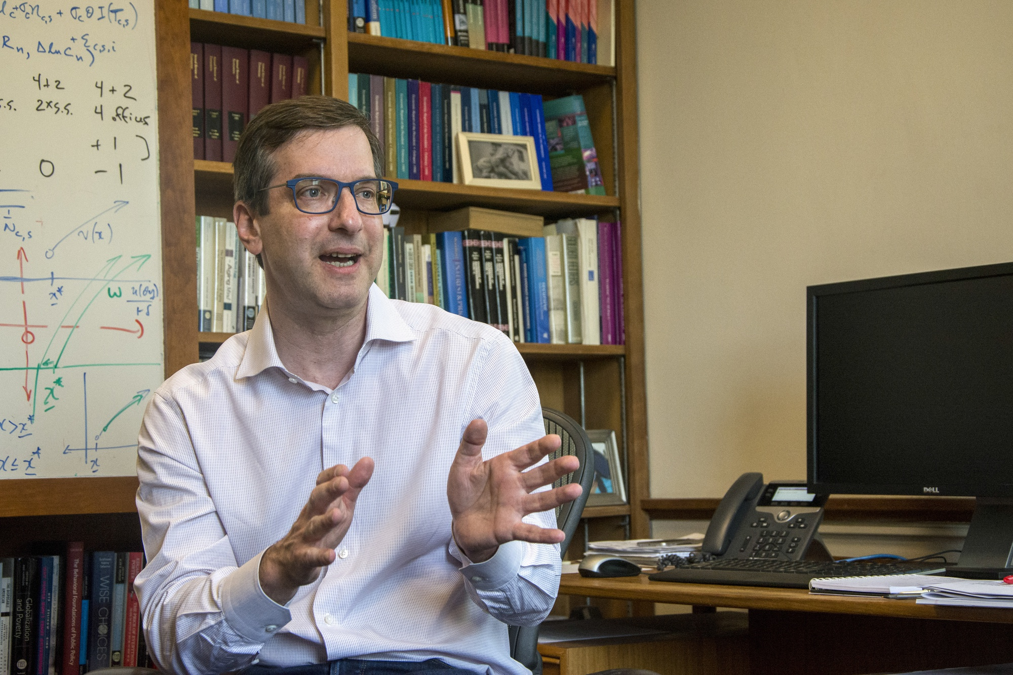 David I. Laibson '88 is Chair of the Economics department.