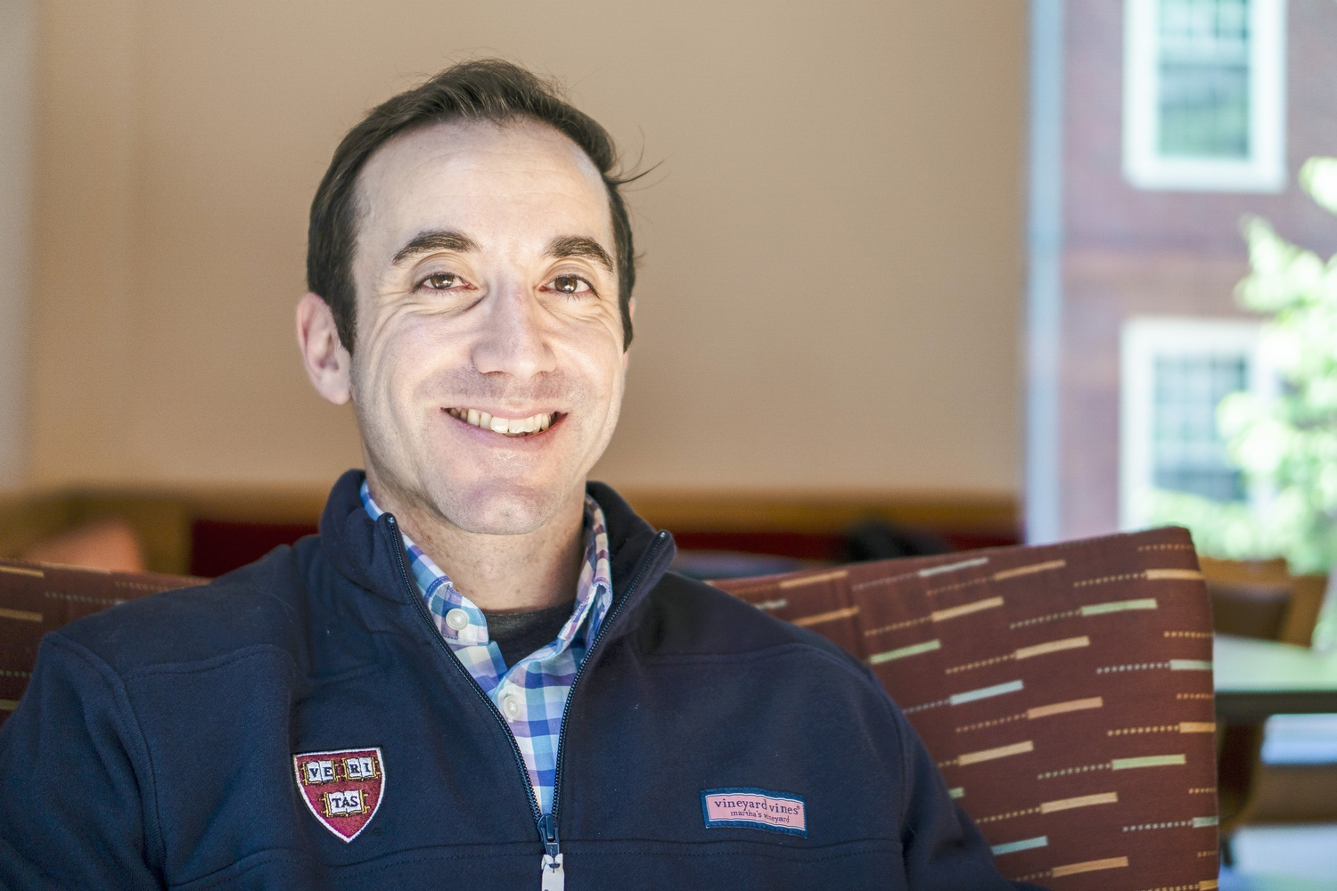 John D. Krohn is a mid-career HKS student who identifies as a moderate Republican.