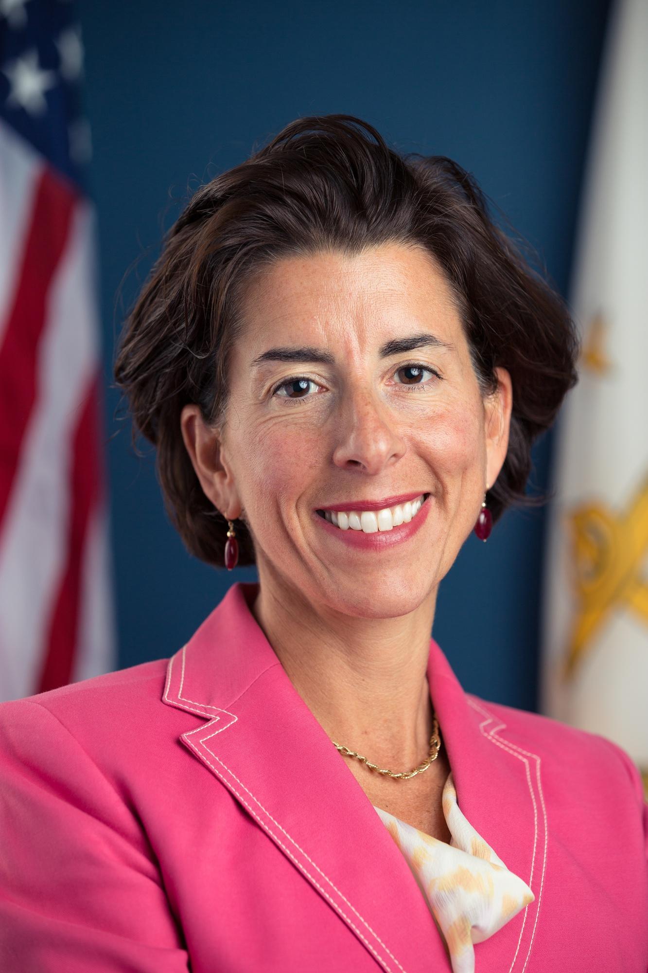 Gina Raimondo '93 currently serves as the governor of Rhode Island.