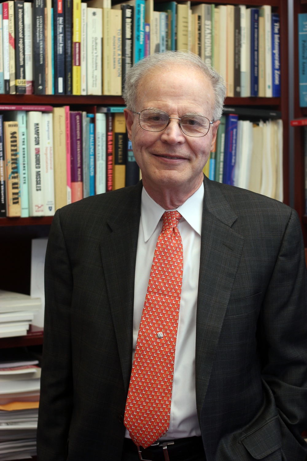 Government professor Jorge I. Dominguez retired at the end of the spring 2018 semester following harassment allegations.