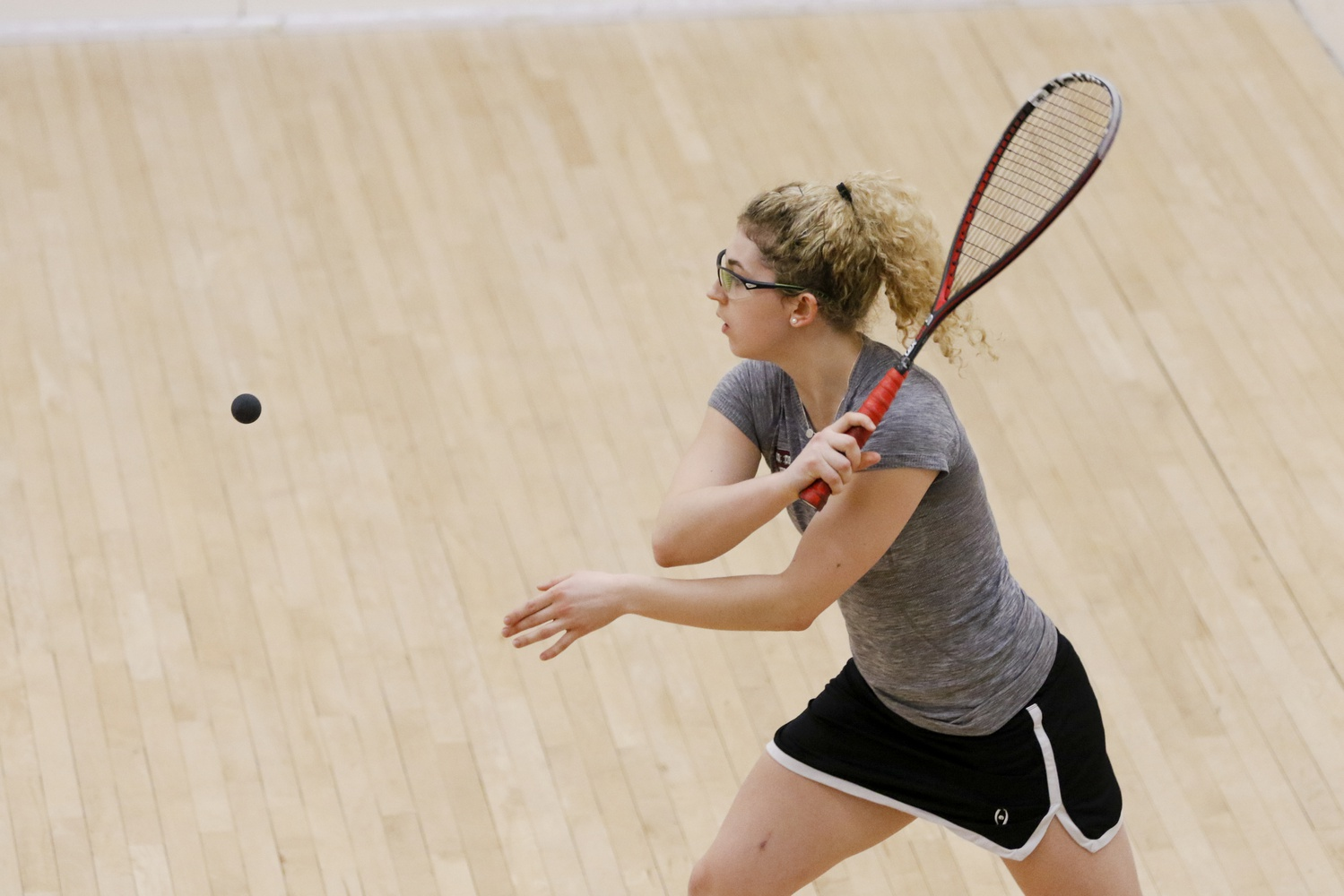 Playing at No. 1 Gina Kennedy was the reigning national champion. This season, she placed second in the individual championships.
