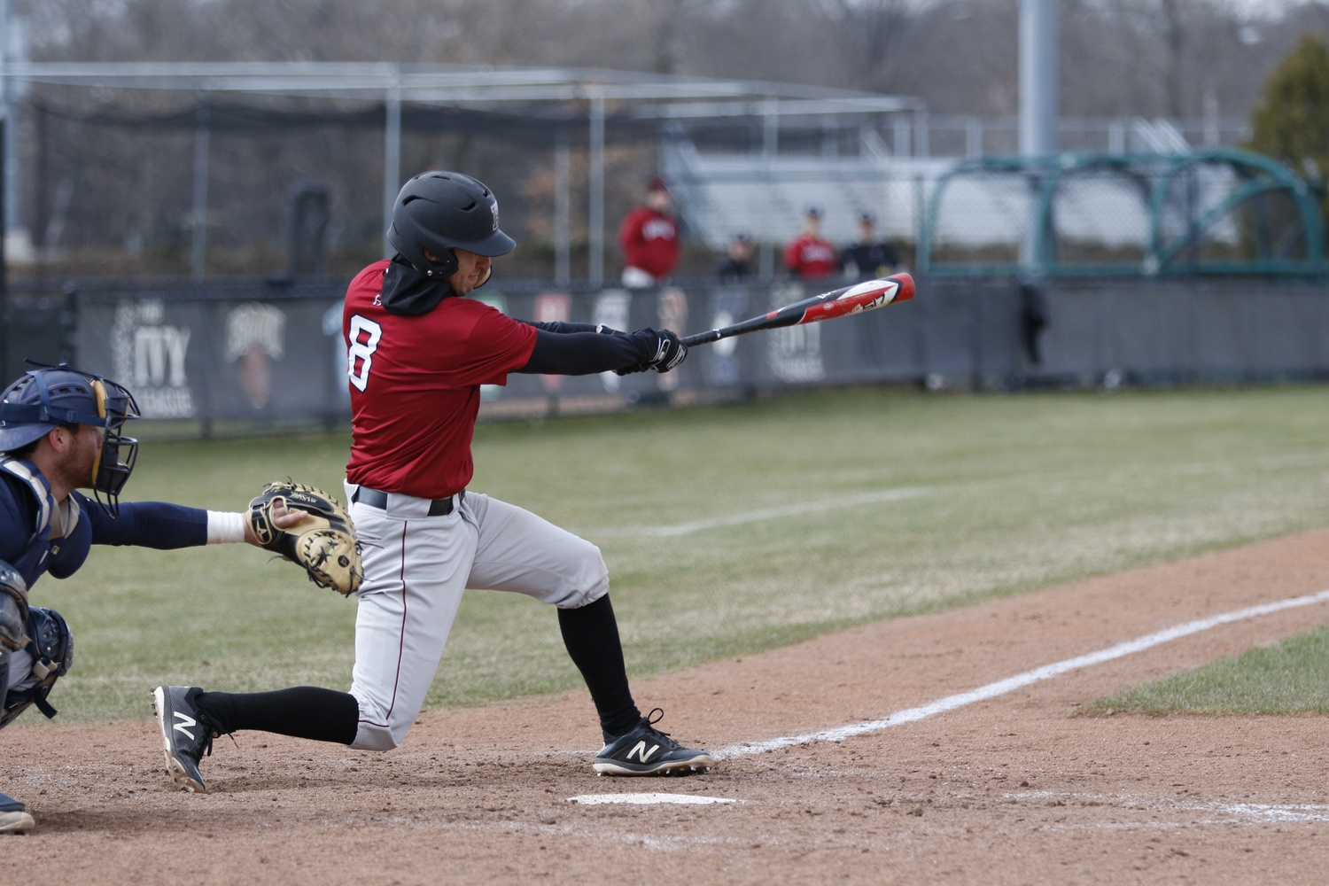 The Crimson's 18-run outing was the highest offensive output of the season that included five home runs, two of which came from senior Matt Rothenberg.
