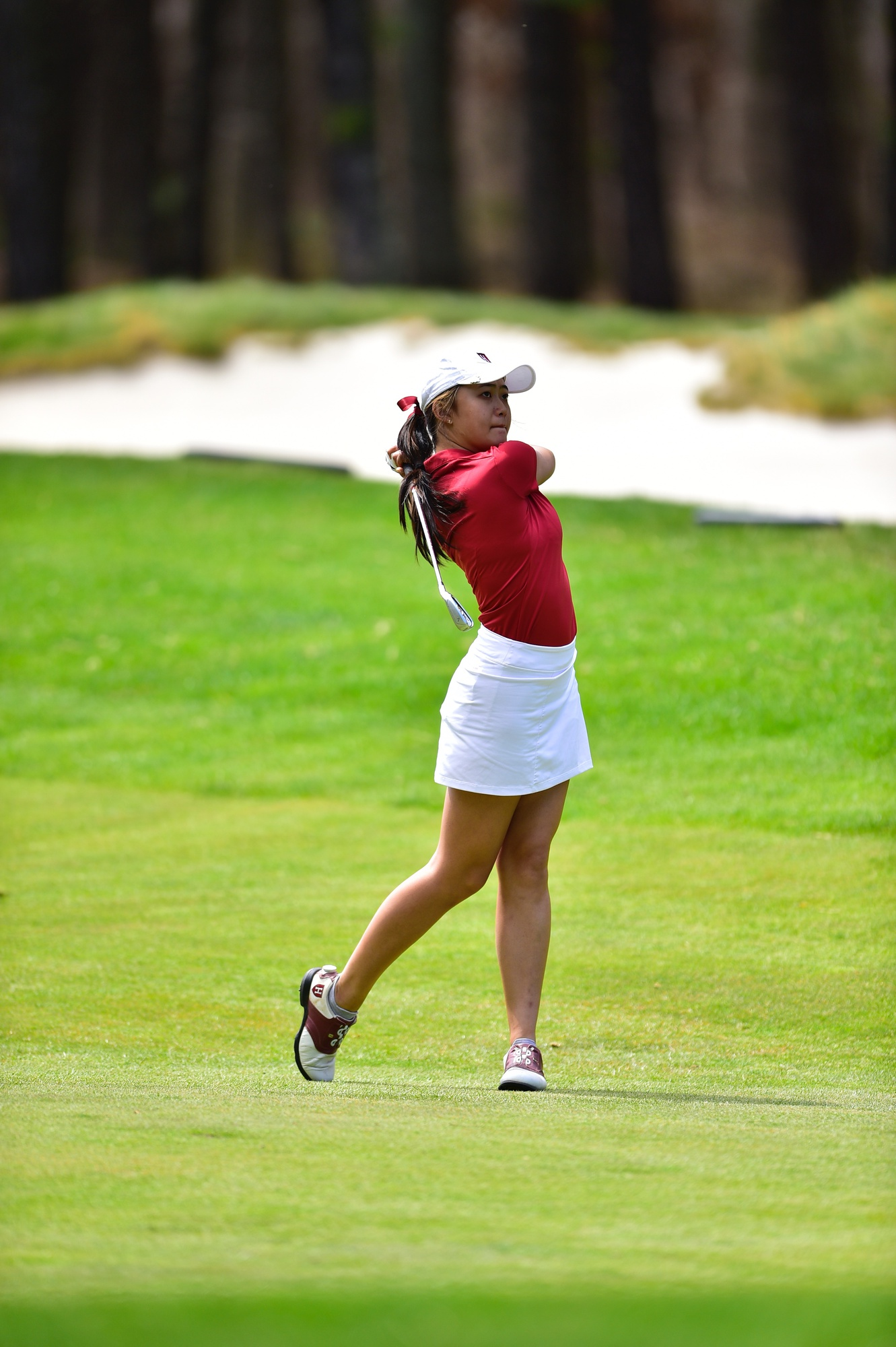Junior Michelle Xie finished four strokes ahead of the next competitor to become the Ivy League Individual Champion.