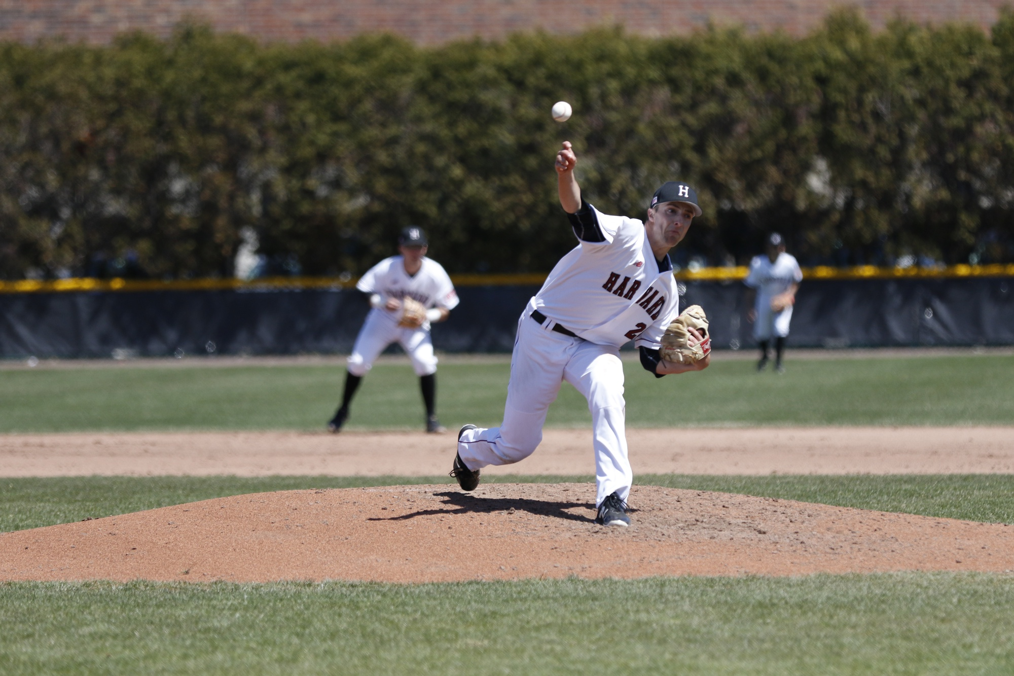 Zavolas fanned 12 batters in his no-hitter on April 13 against Yale, earning his fourth win of the season.