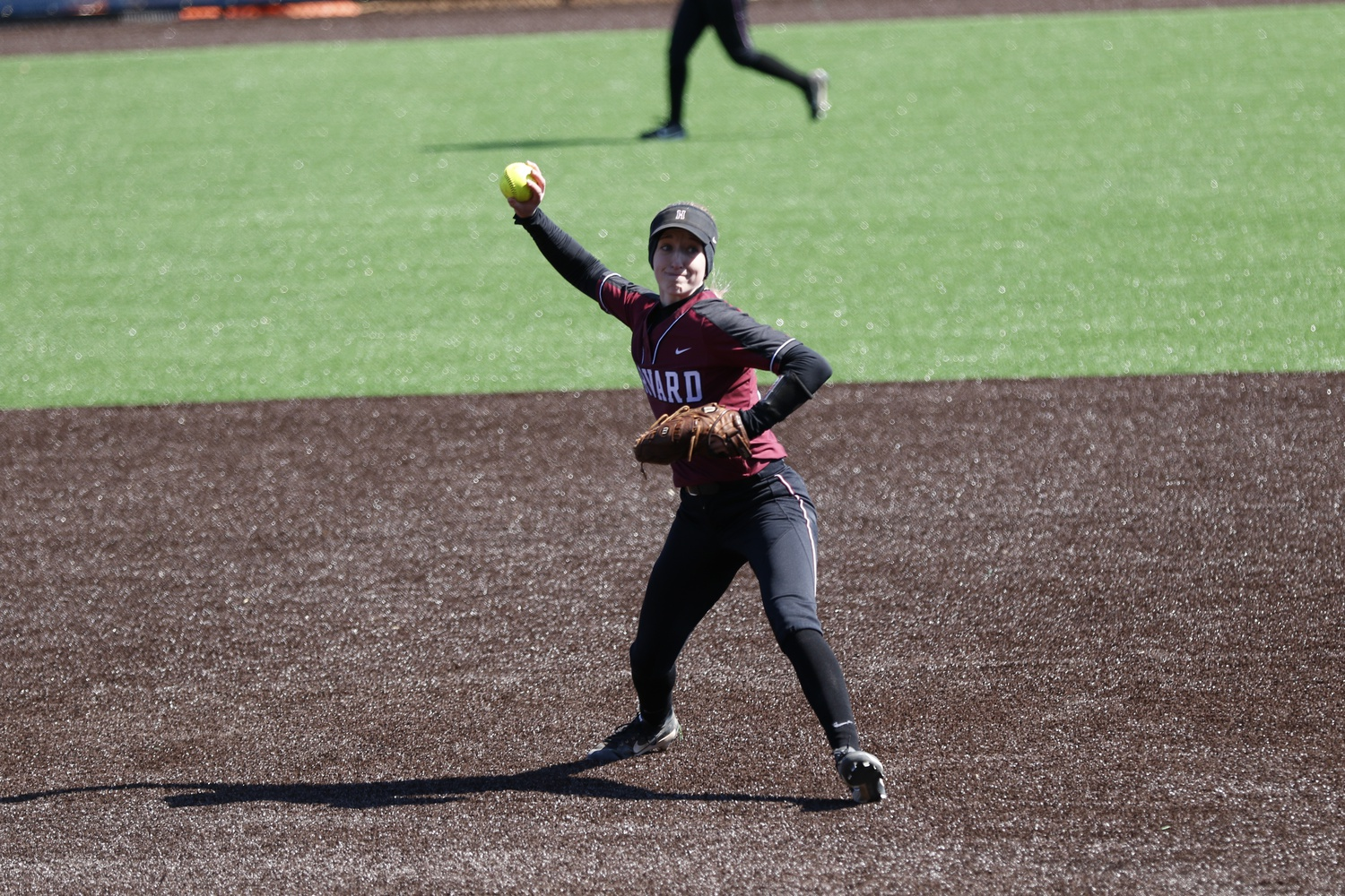 Rich, now a junior, has held down Harvard's starting shortstop job for her first three seasons in Cambridge.