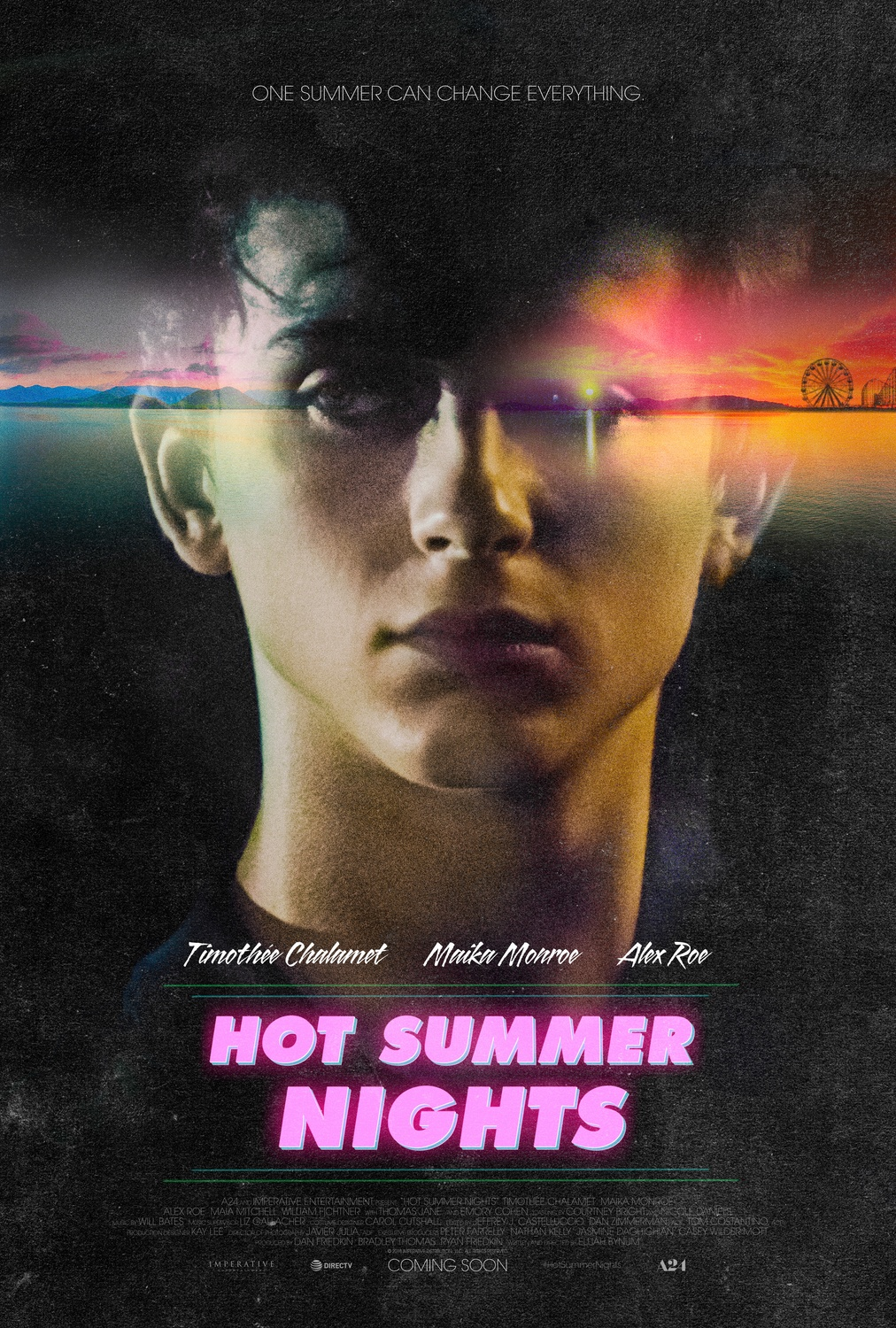 "Timothée Chalamet stars in ""Hot Summer Nights,"" directed by Elijah Bynum."