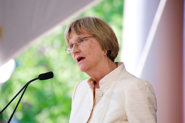Former University President Drew G. Faust