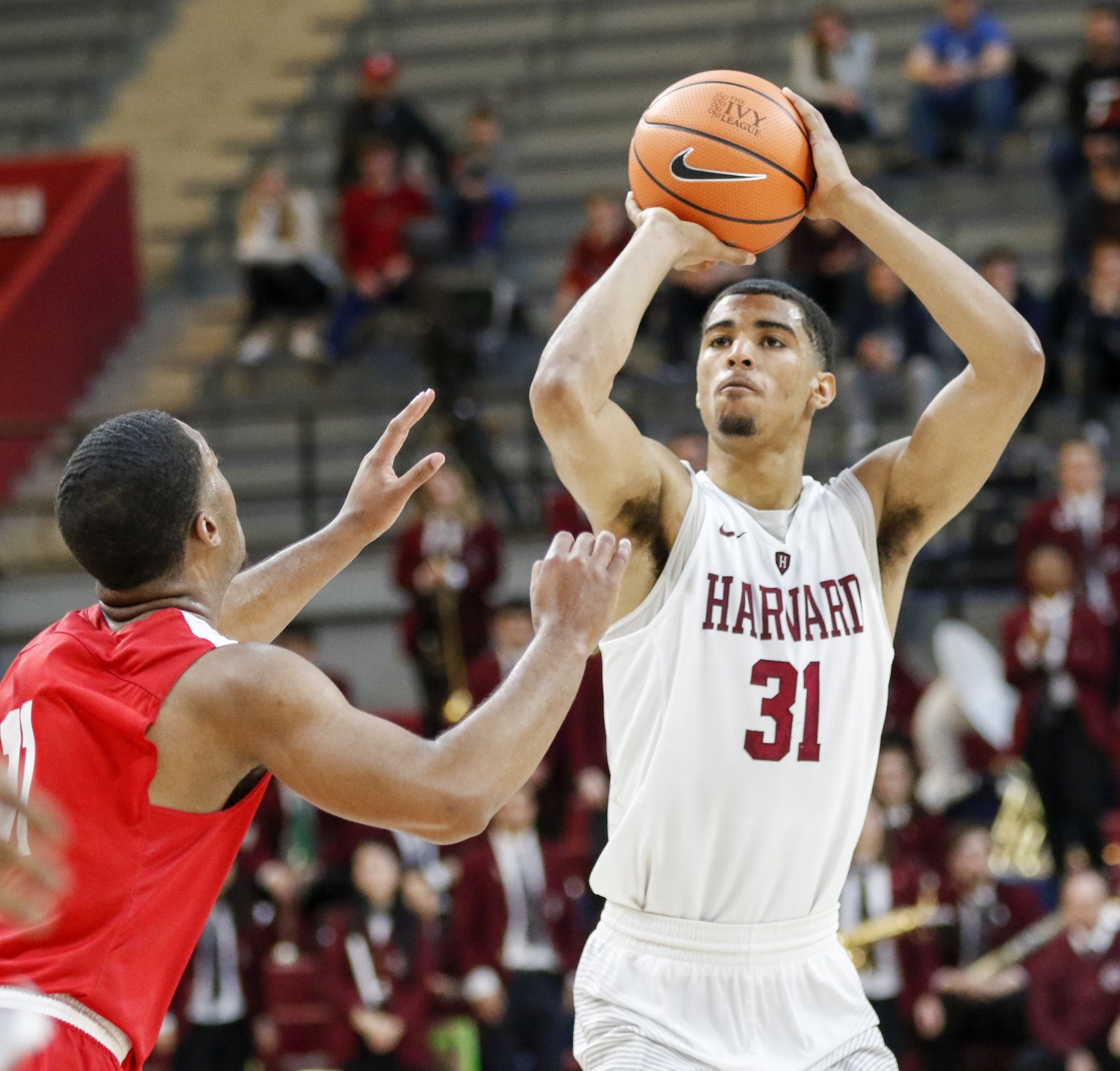 Junior Seth Towns, the reigning Ivy League Player of the Year, averaged 16.0 points per game last season.
