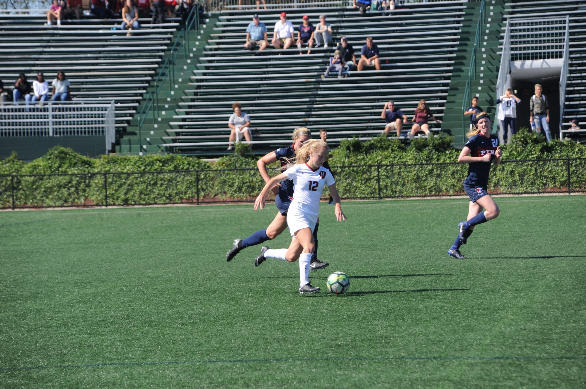 Sophomore forward Murphy Agnew's effort to draw a penalty at the outset of the second half against Syracuse kickstarted the Crimson offense, which went on to net four goals.