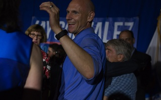 Quentin Palfrey on Primary Night