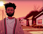 "Childish Gambino in ""Feels Like Summer"""