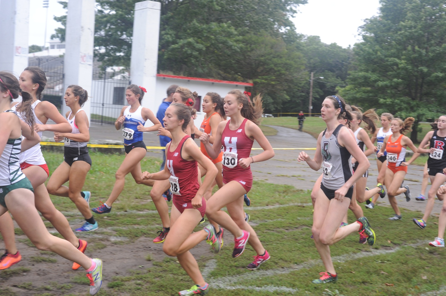 Harvard runners compete in last year's Beantown Annual