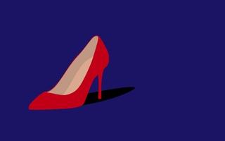 Illustration of Cardi B's shoe.