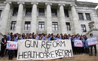 Medical School Gun Violence Rally