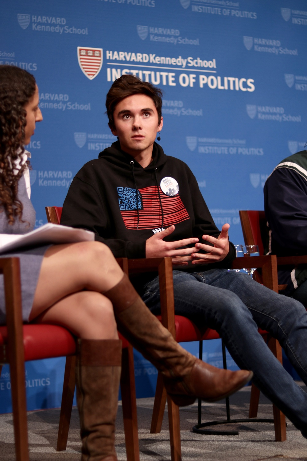Harvard Votes Challenge — which aims to boost voter turnout among students — hosted a panel of students activists at the Institute of Politics.