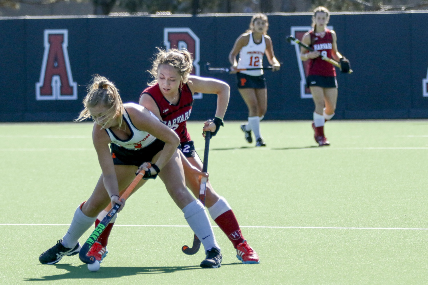 Against No. 18 Maine, Maddie Earle earned her first ever hat trick — scoring on all three targets.