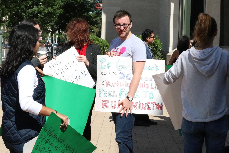 Demonstration against Kavanaugh