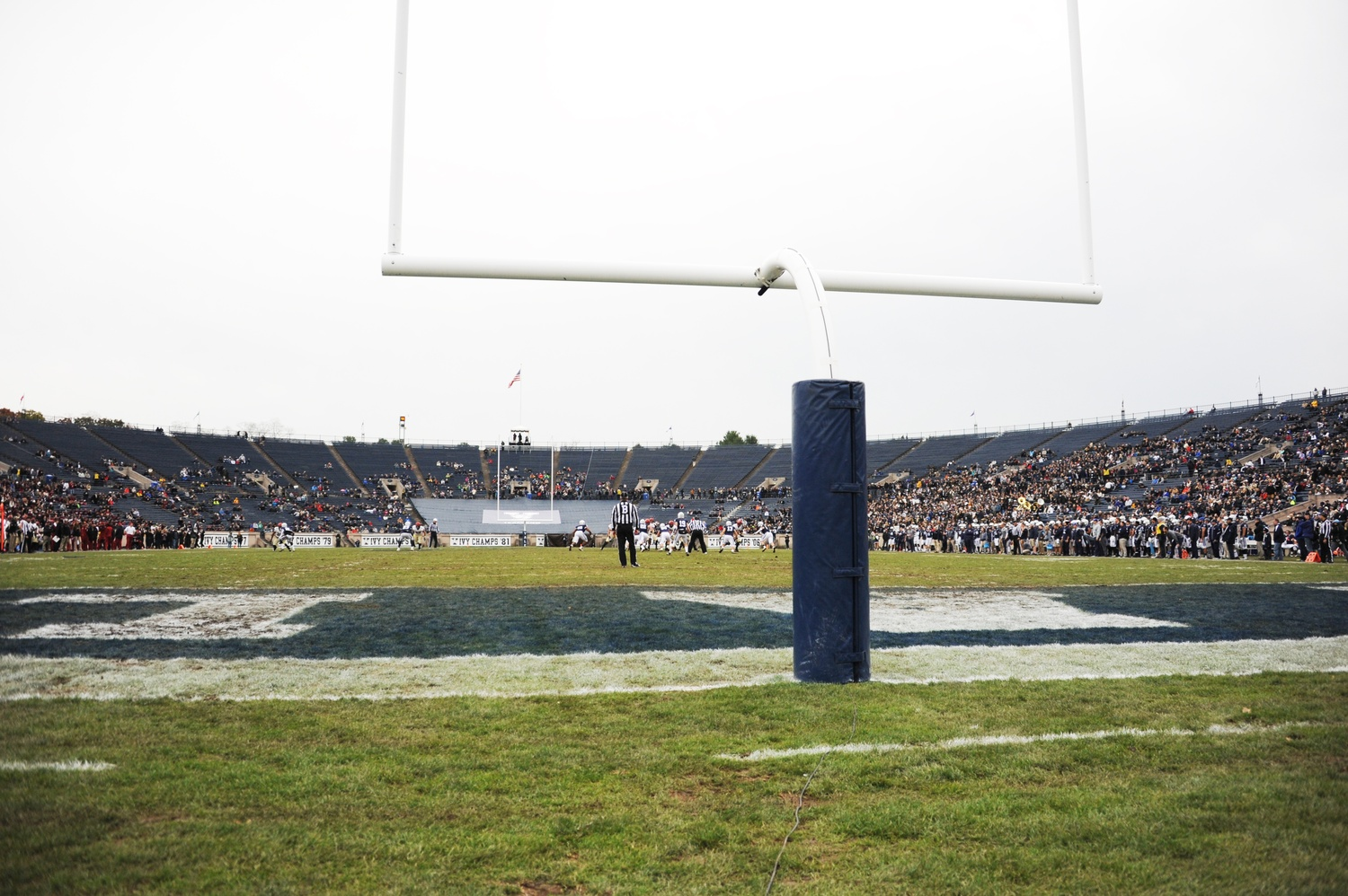 More than 700 students have signed a petition to keep the annual Harvard-Yale tailgate at Cumnock Field.