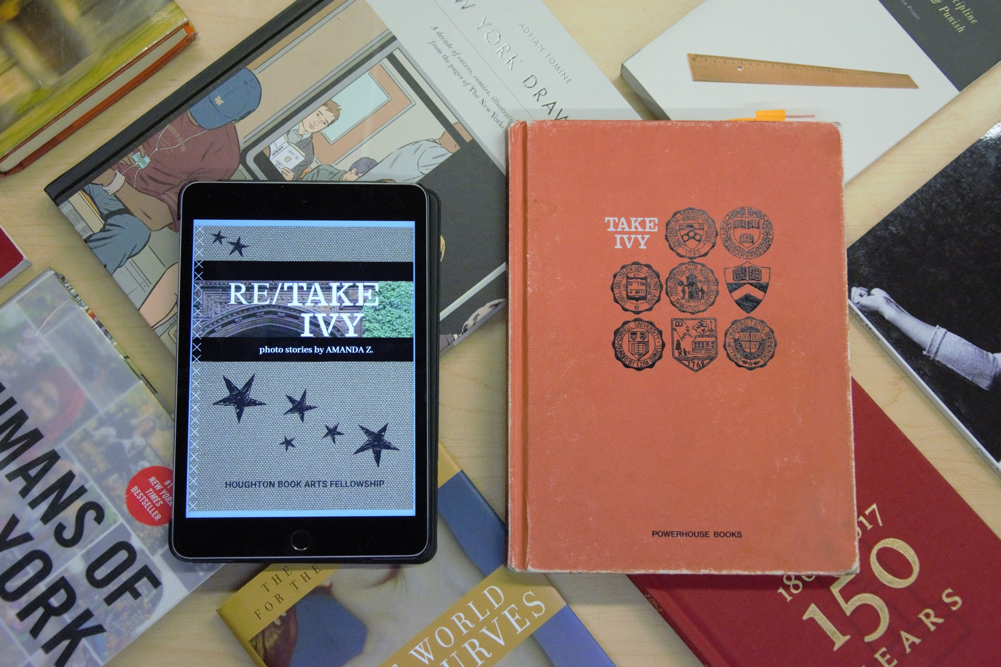 """The revamped """"Re/Take Ivy"""" and original """"Take Ivy"""" books are on FM's fashion reading list."""