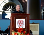 Bacow at Inauguration