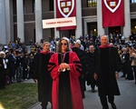 Former Harvard Presidents at Inauguration