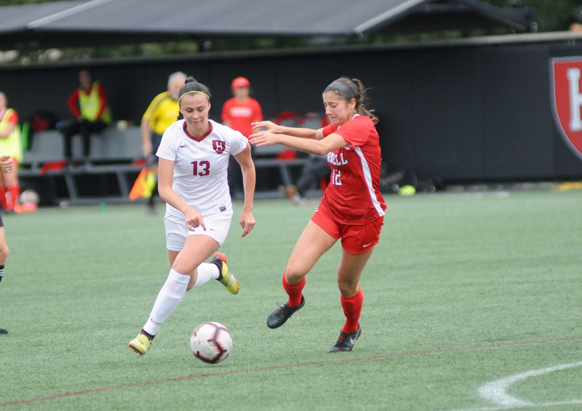 Leah Mohammadi scored from a direct free kick on Tuesday, bringing her season total to a team-high six goals.