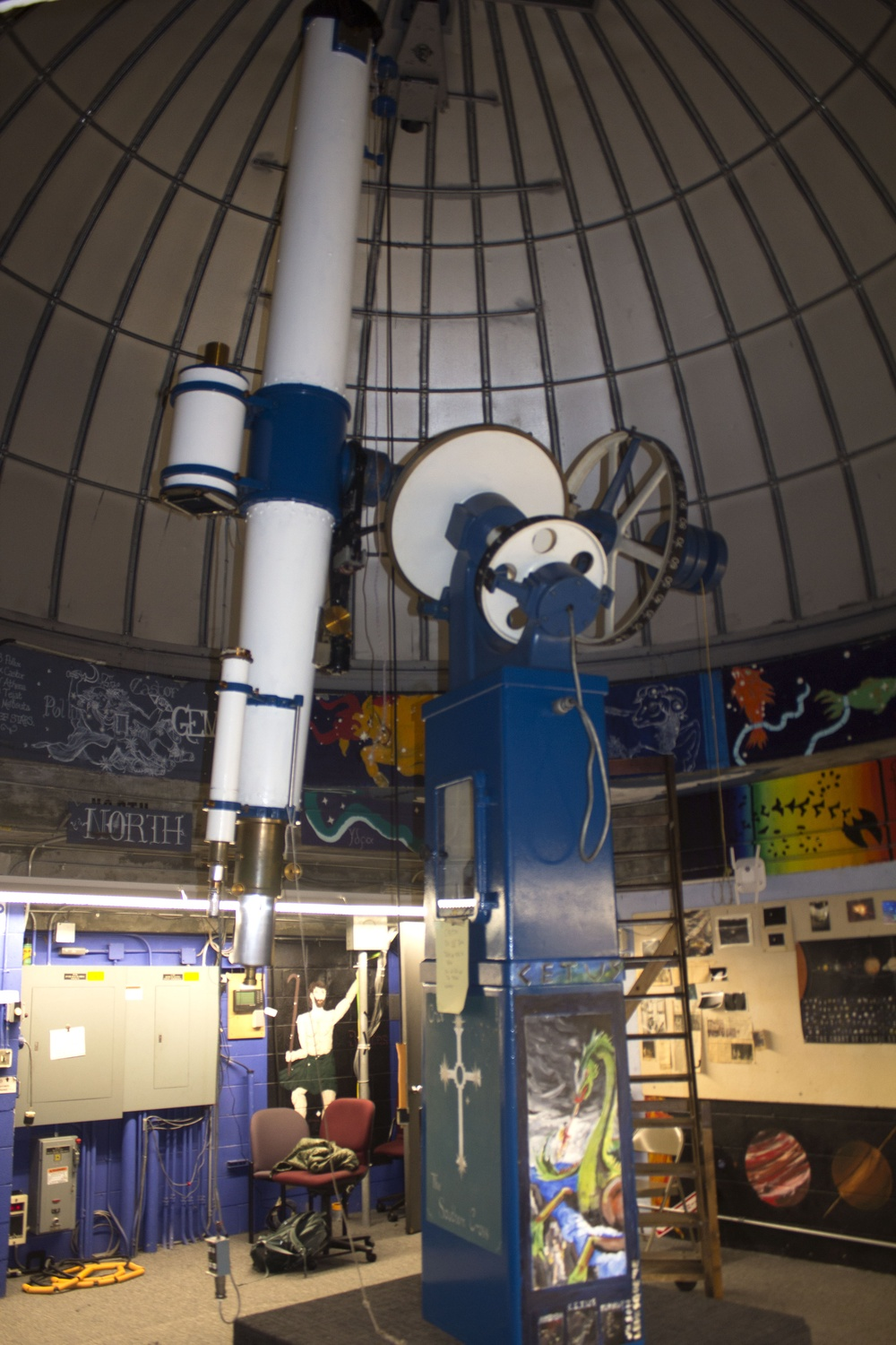 The Student Astronomers at Harvard-Radcliffe, a student group known as STAHR, recently announced that the Loomis-Michael Observatory is under repair.