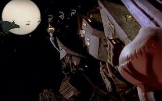 "Screenshot from ""A Nightmare Before Christmas"" trailer."