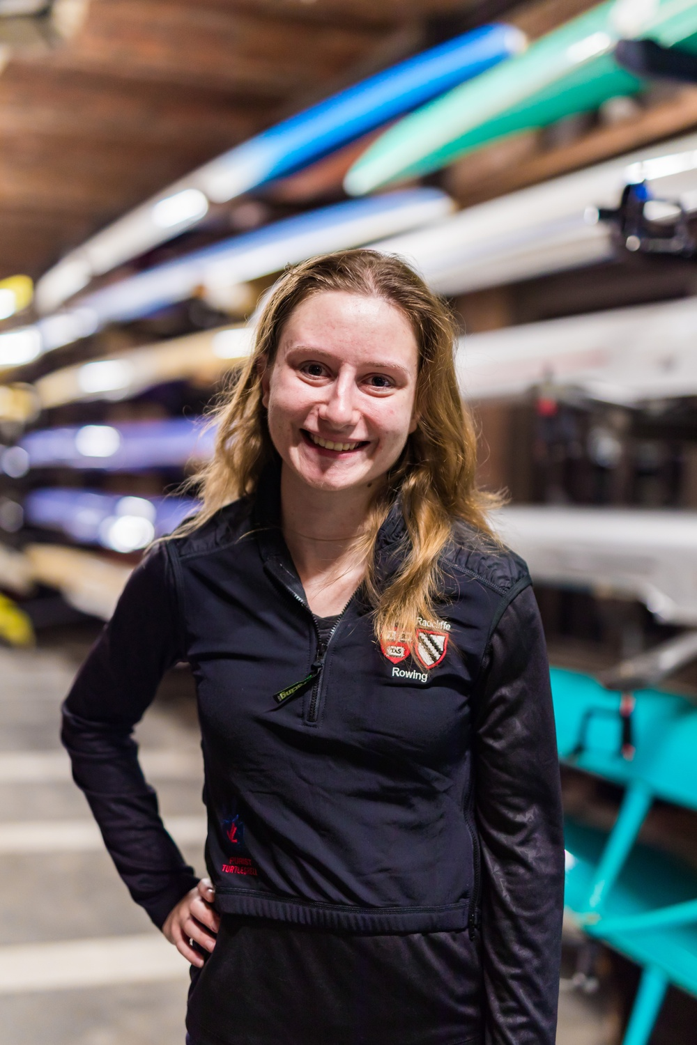 Krista Anderson, along with the rest of the coxswains across the crew program, are just as responsible for motivation as they are for navigation.