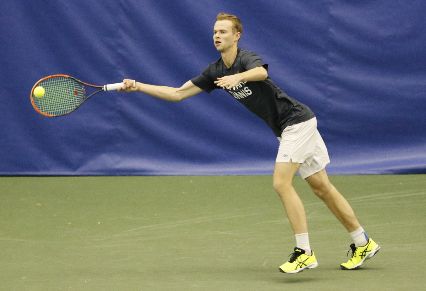 Sophomore Robert Wrzesinski hails from Vilnius, Lithuania and has competed in the Australian Open.