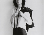 """Patti Smith on the cover of """"Horses."""""""
