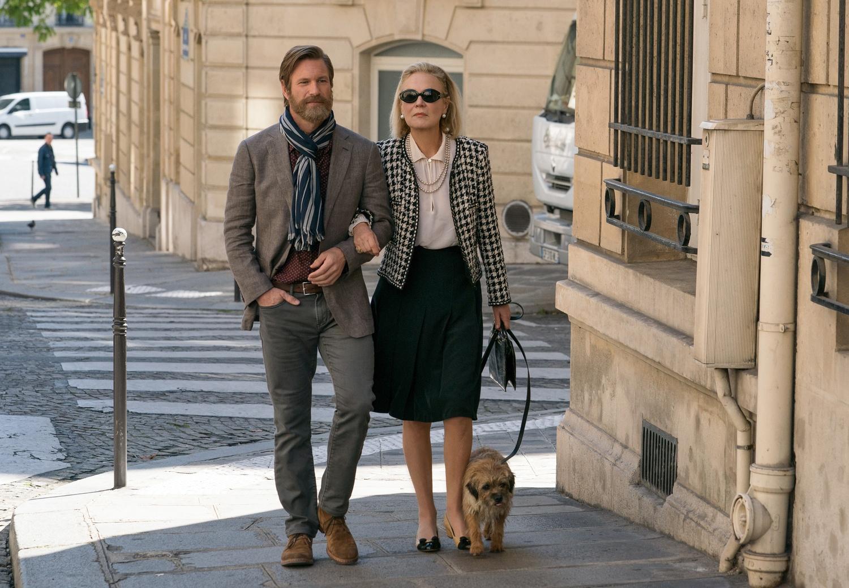 """Aaron Eckhart and Marthe Keller star in """"The Romanoffs"""" on Amazon Prime."""