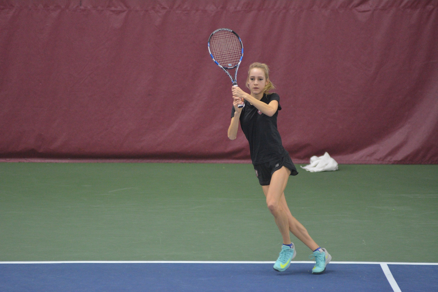 Junior Lexi Milunovich won in straight-sets against Fordham and Seton Hall this weekend.