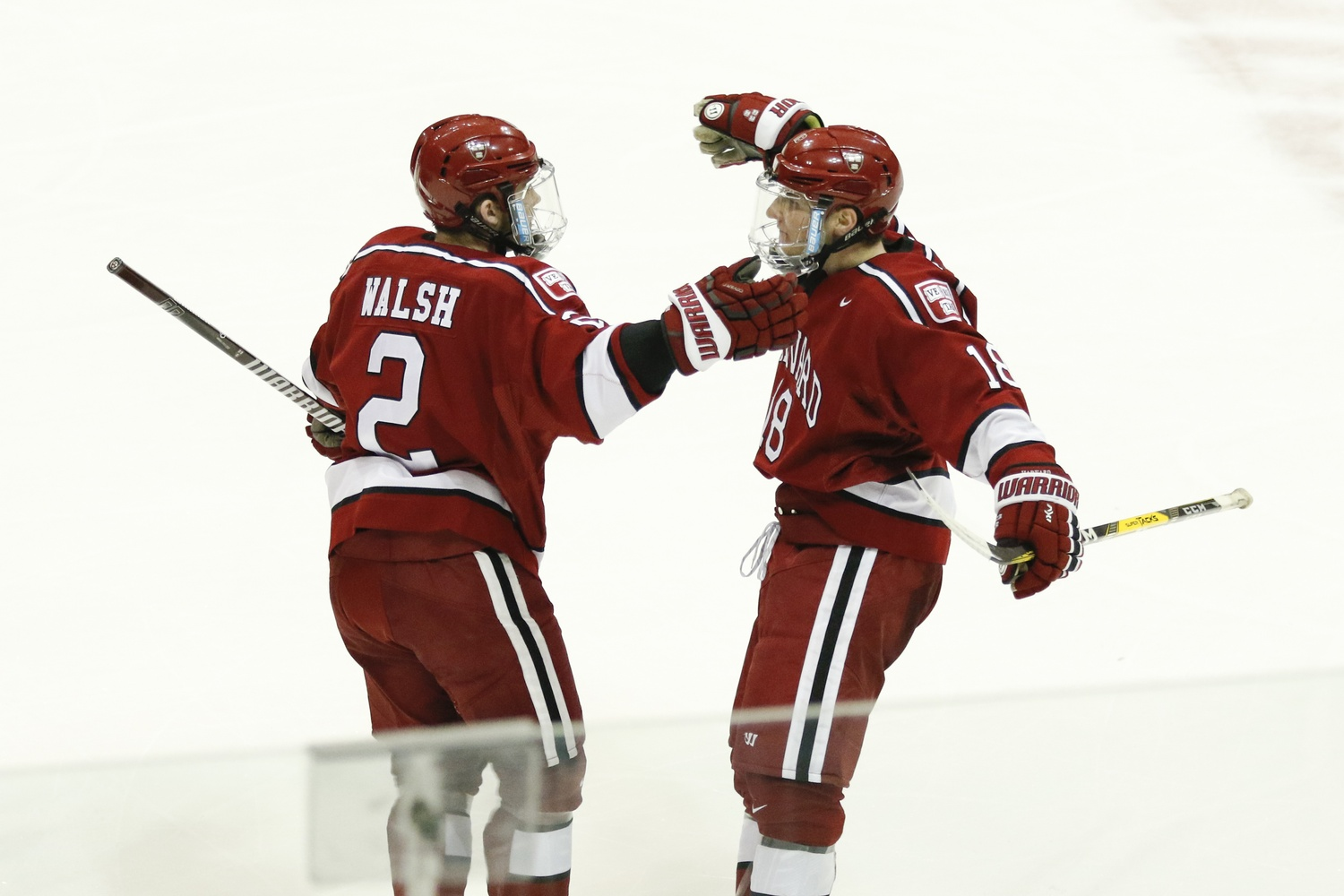 It's usually a good outing for Harvard when Walsh and Fox are at their best — together, the two offensive-minded defensemen scored three goals on Saturday.