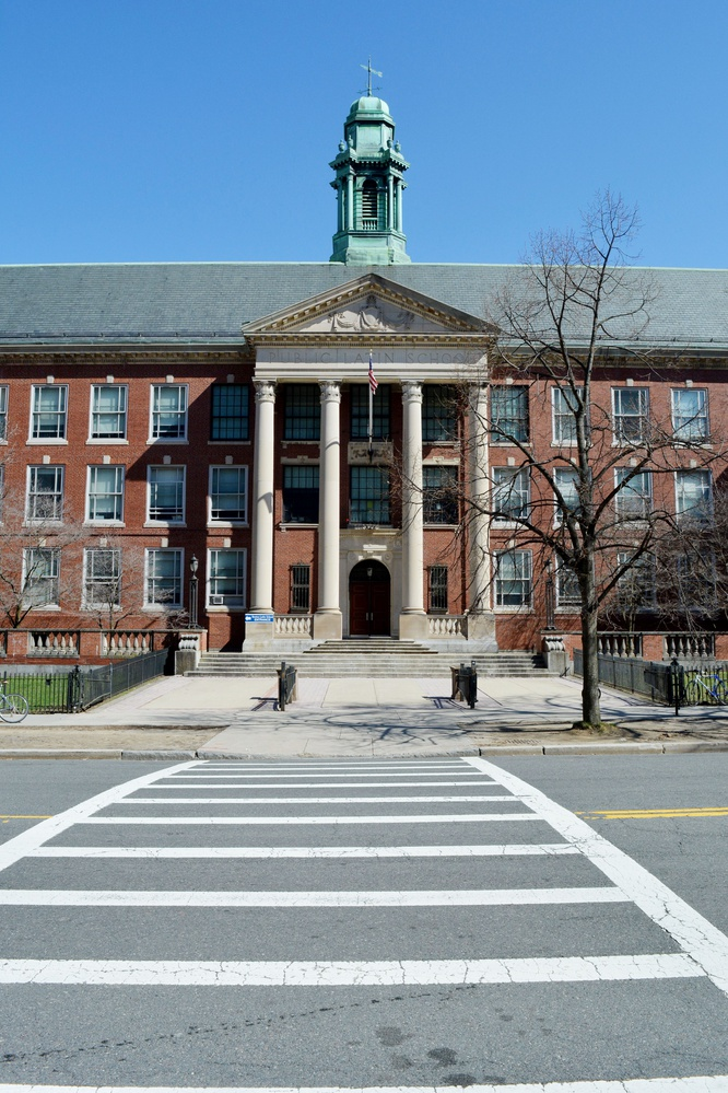 Boston Latin School is the largest and most selective of Boston's public exam high schools.
