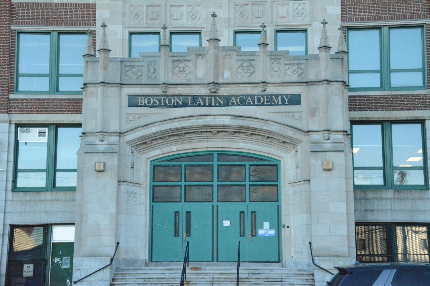 Boston Latin Academy is one of Boston's most prestigious public schools, and one of three exam schools.