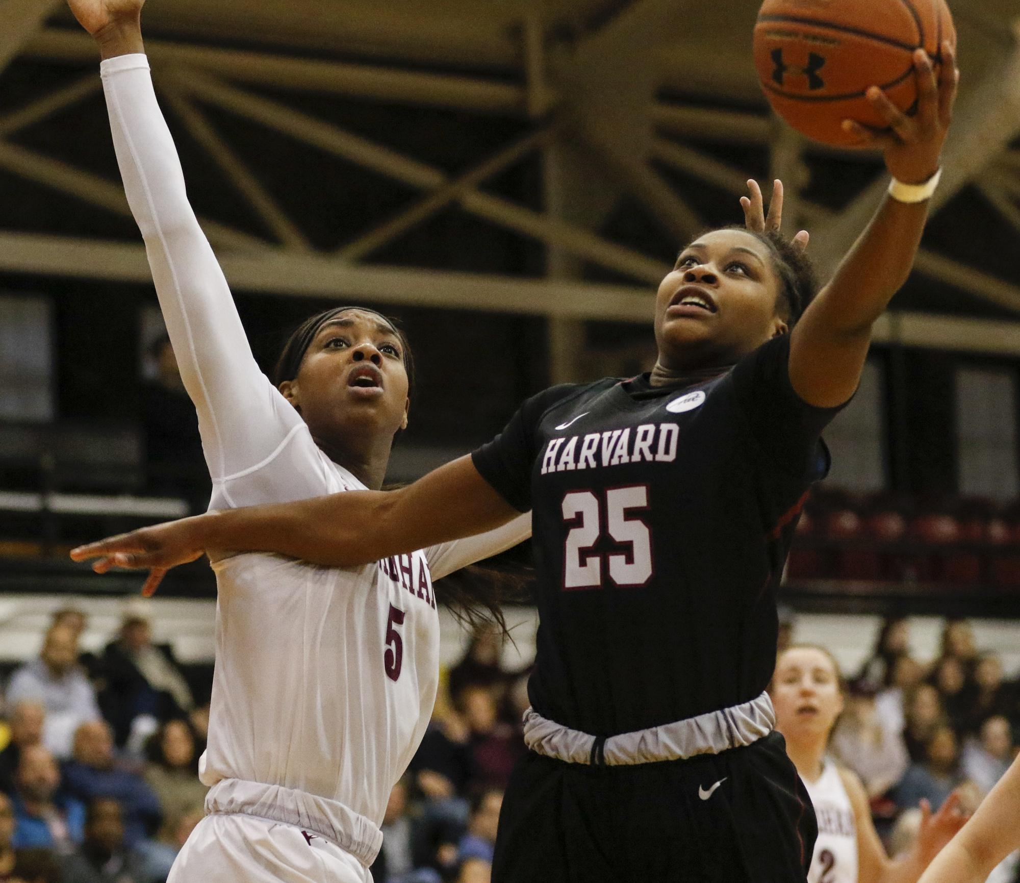 Senior guard Sydney Skinner averaged 9.0 PPG for Harvard last season