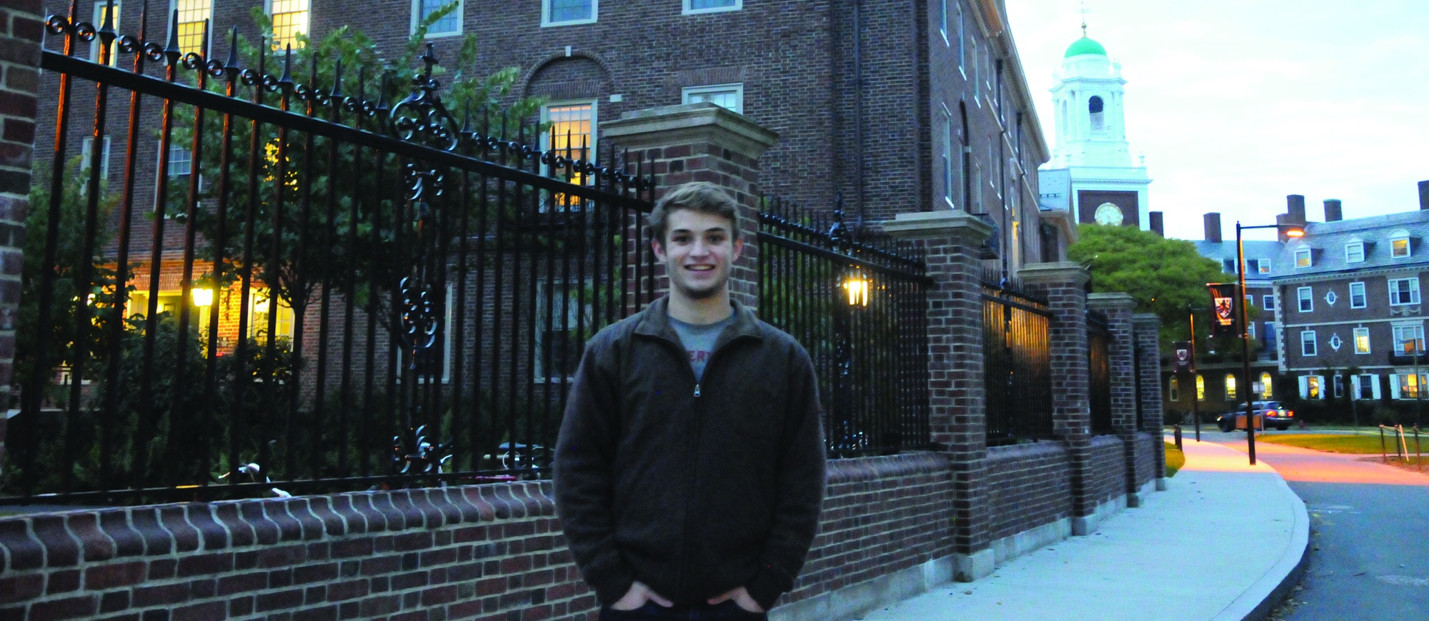 Freshman Tucker Ribman will be aiming to use his expertise to elevate the Harvard Wrestling program to new heights this season.