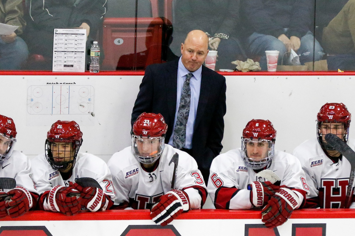 For the Harvard icemen, learning how to avoid beating themselves is as crucial as figuring out the other team. This trope has persisted since early last season.