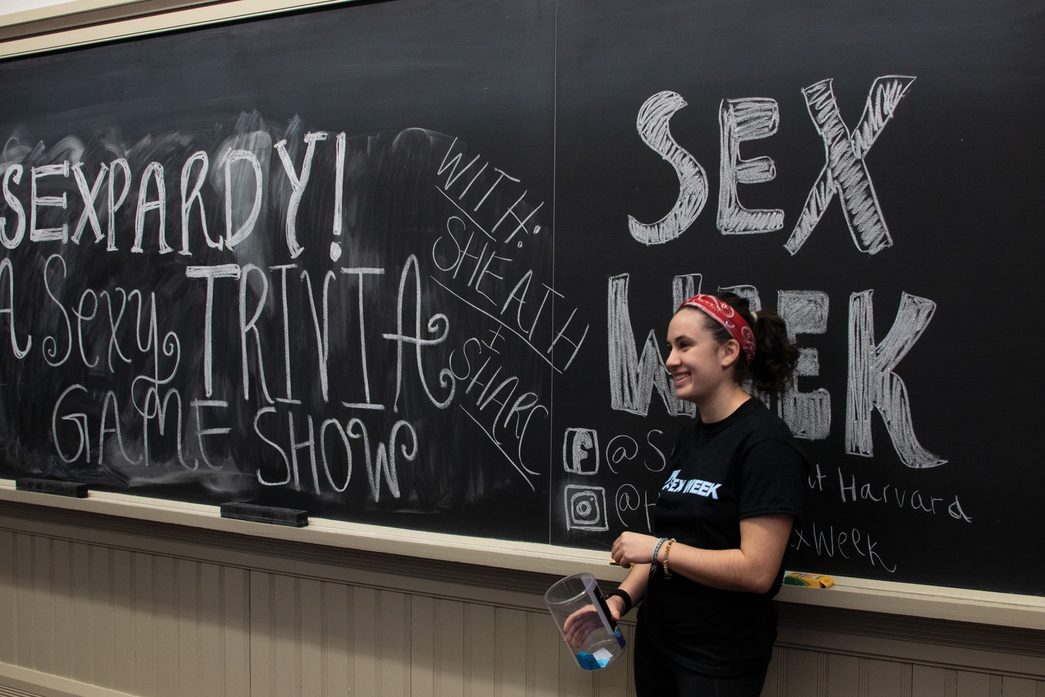 Harvard students hosted Sex Week for the eighth year running.