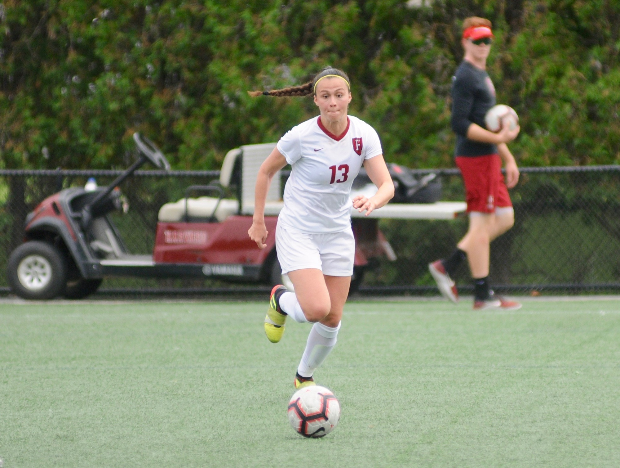 Senior midfielder Leah Mohammadi finished the season with a team-high seven goals, marking the second straight season in which she led the Crimson in scoring.