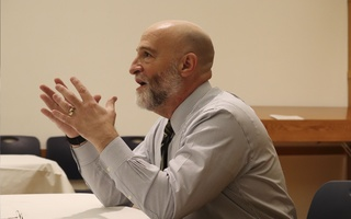 Conversation with Jay M. Harris at Hillel
