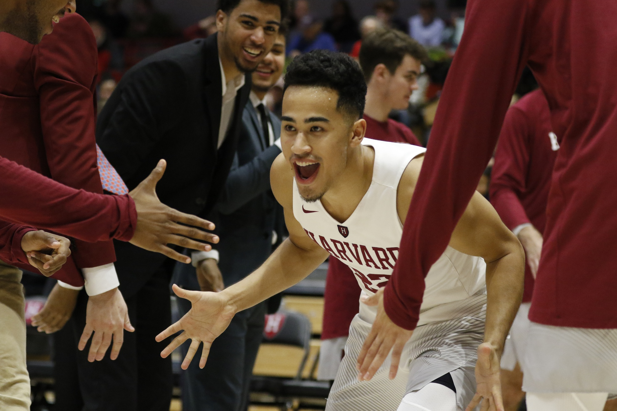 Junior guard Christian Juzang logged 32 minutes against MIT, a team-high on the night.